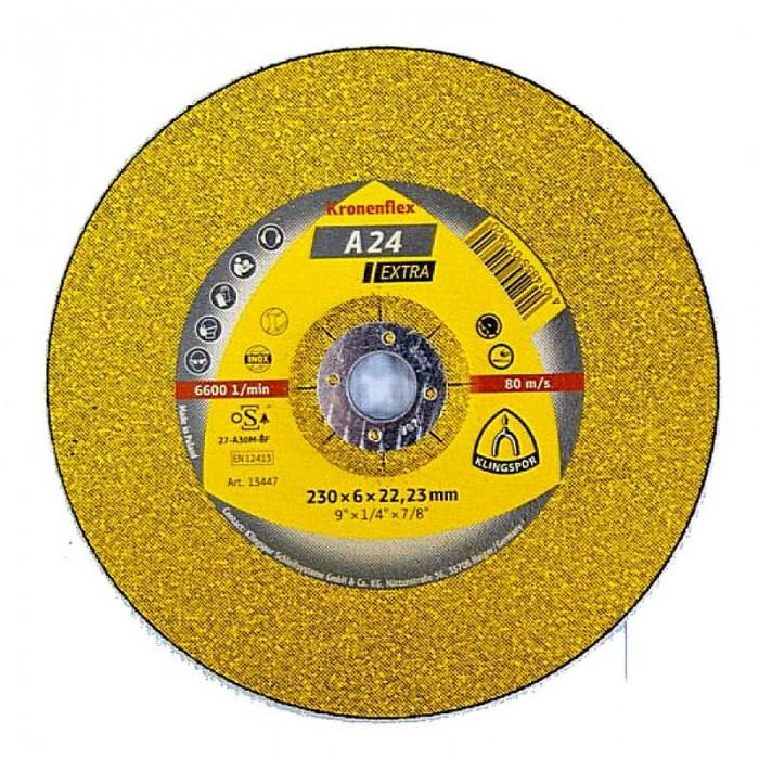 Круг шлифовальный для металла KLINGSPOR EXTRA 150х6,0х22,23