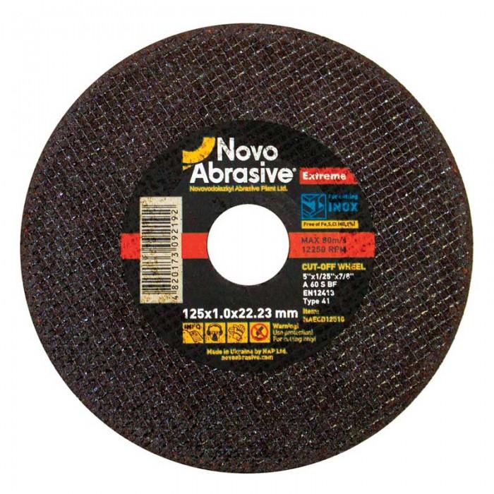 Круг отрезной для металла NOVOABRASIVE EXTREME 125х1,0х22,23
