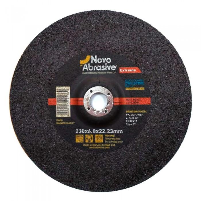 Круг шлифовальный для металла NOVOABRASIVE EXTREME 125х6,0х22,23 тип 27