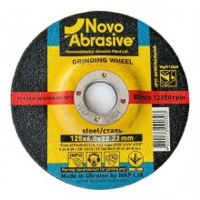 Круг шлифовальный для металла NOVOABRASIVE 230х6,0х22,23 тип 27
