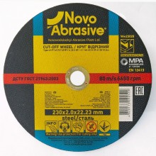 Круг отрезной для металла NOVOABRASIVE 300х3,0х32