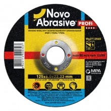 Круг шлифовальный для металла NOVOABRASIVE 180х6,0х22,23