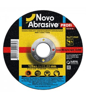Круг шлифовальный для металла NOVOABRASIVE 150х6,0х22,23