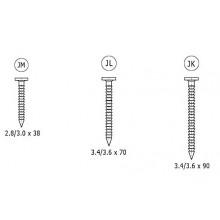 Гвозди кольцевые 3,6х90 EPAL, кг