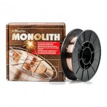 Проволока СВ08Г2С-обм. ф0,8 (кас.18кг) ТМ Monolith