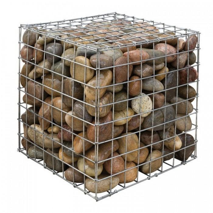 """Габион в сборе """"куб"""" 0,3х0,3х0,3м (сетка 50х50х4,0мм)"""